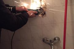Zamena ventila za vodu u zidu