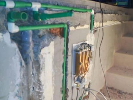 Ugradnja novih cevi i montaža sanitarija