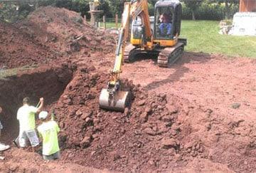 Zemljani radovi - Mašinski i ručni iskopi